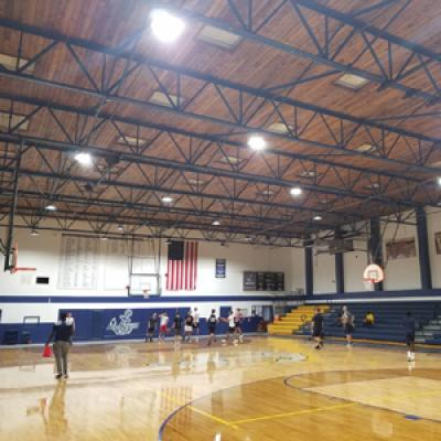ACE Projects: Sports Hall with Smart High Bay